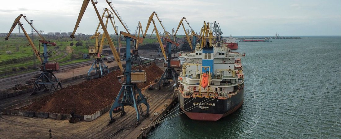 Госстивидор «Южный» обработал 4,7 млн тонн грузов в январе-апреле