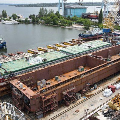 «Нибулон» строит третью стометровую баржу проекта В5000