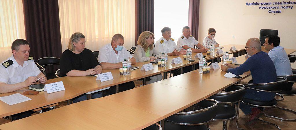 В порту «Ольвия» обсудили готовность к передаче имущества концессионеру