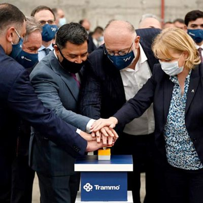 В порту Батуми открыли новый терминал для перевалки минеральных удобрений