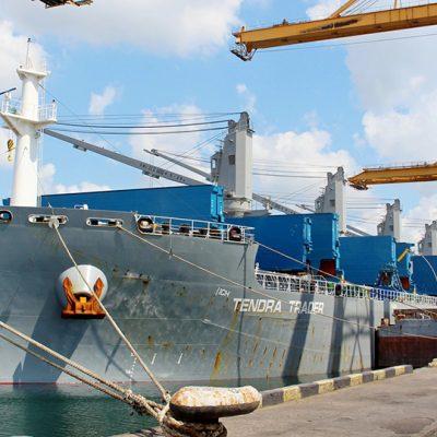 Порт Черноморск принял первый в 2021 году балкер с углем