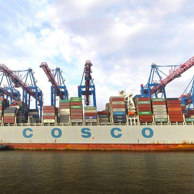 Cosco хочет купить долю в контейнерном терминале HHLA в порту Гамбург