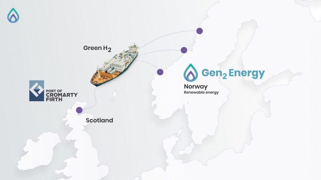Порт в Шотландии планирует стать европейским водородным хабом