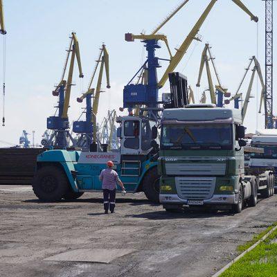 Порт Мариуполь сократил грузооборот на 4% в январе-августе