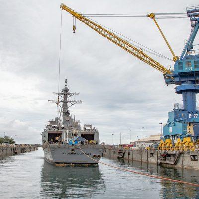 Konecranes изготовит второй портальный кран для ВМС США