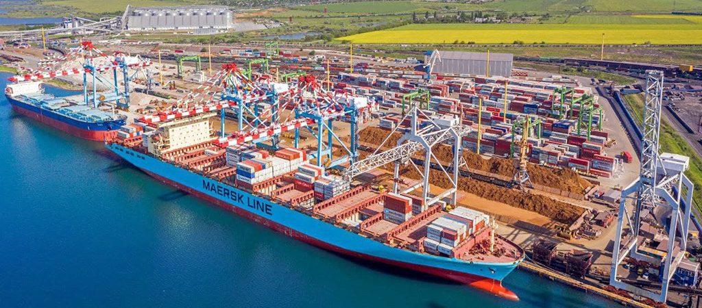 Maersk с августа переводит терминальные операции в Украине на терминал DP World TIS Pivdennyi