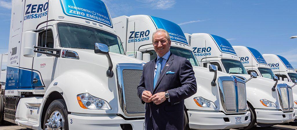Порт Лос-Анджелес запустил пилотный проект использования транспорта на водородных элементах