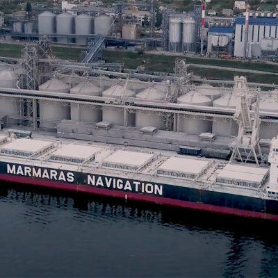 «Трансбалктерминал» загрузил самое большое судно в своей истории