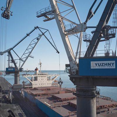 Госстивидор «Южный» обработал более 9 млн тонн грузов в январе-июле