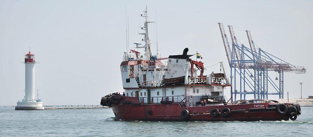 Морская охрана получила новый корабль спецобеспечения