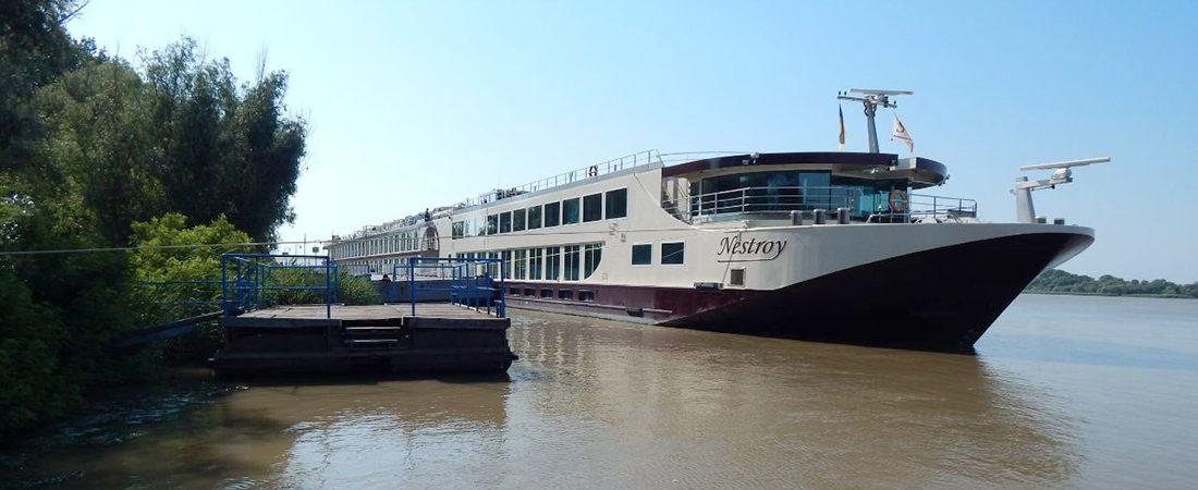 Усть-Дунайский порт принял первое круизное судно после длительного перерыва