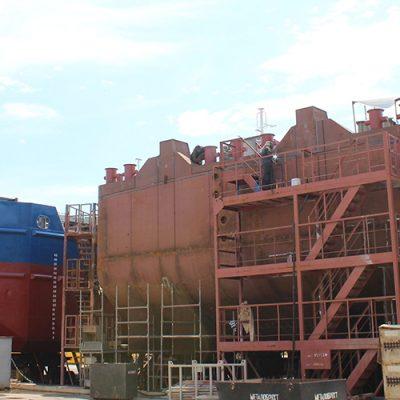 «Нибулон» начал строительство второй баржи проекта В5000М