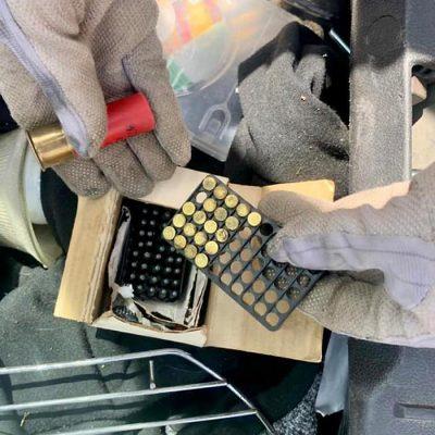 В двух портах Одесского региона пограничники обнаружили закладки боеприпасов