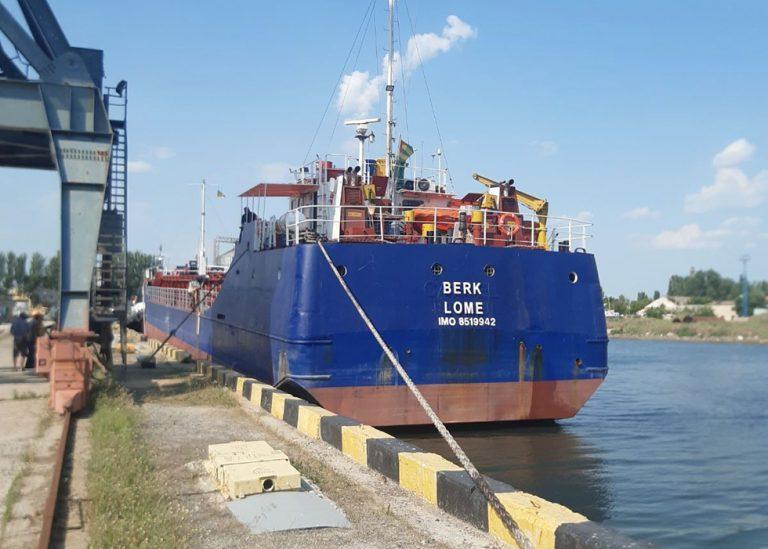 Скадовский порт принял первое с начала года торговое судно