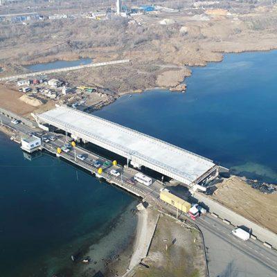 «Укравтодор» приостановил строительство моста через Сухой лиман