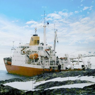 Украина купит ледокол для антарктических экспедиций