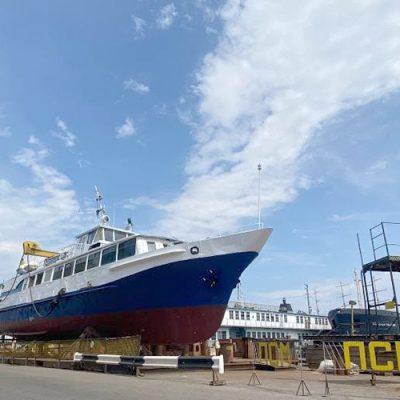 ГП «ОМТП» отремонтировало пассажирский катер «Иокогама»