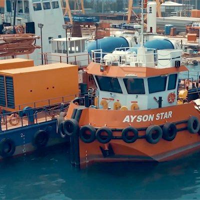 Техника для строительства вантового моста в Кременчуге прибудет из Стамбула