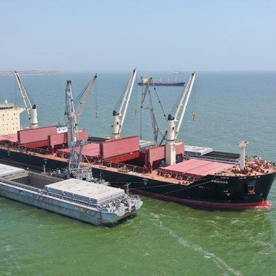 ArcelorMittal отправил рекордную партию металлопродукции через Николаевский порт