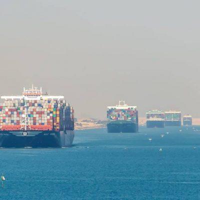 Ставки фрахта контейнеровозов выросли более чем в 4 раза с начала года