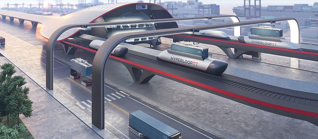 HHLA представит модель скоростной транспортировки контейнеров по технологии Hyperloop