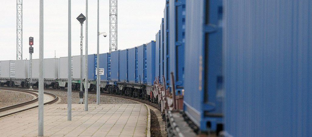 Поезд «Викинг» впервые отправился в Измаильский порт