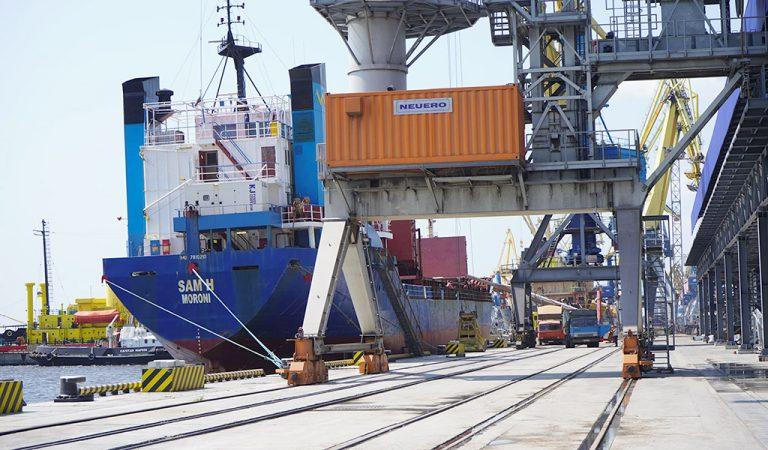 Госстивидор ММТП обработал 325 тыс. тонн грузов с начала месяца
