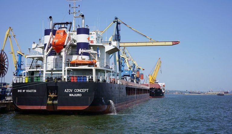 Госстивидор ММТП обработал 333 судна с начала года
