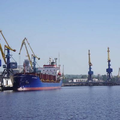 Порт Мариуполь сократил грузооборот на 2% в январе-июле