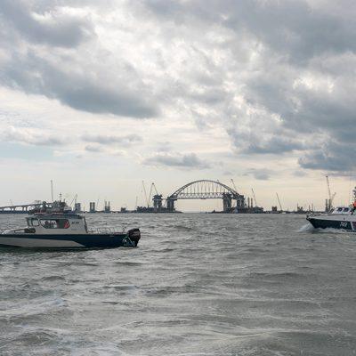 Использование Росгвардии в Керченском проливе угрожает безопасности судоходства — МИД