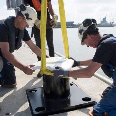 Порт Роттердам устанавит изготовленные с помощью 3D печати швартовные палы