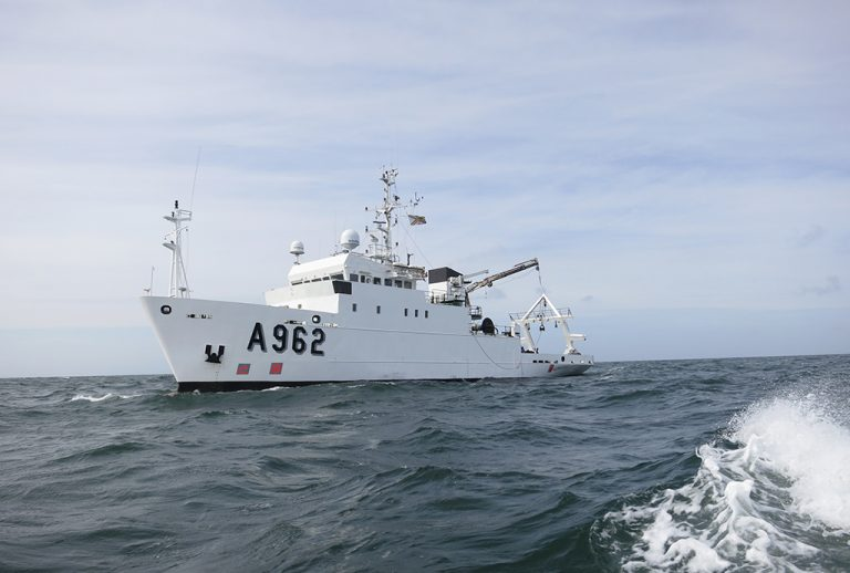 Бельгия передаст Украине корабль для мониторинга Черного моря