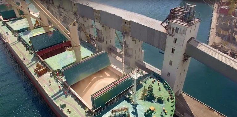 Зерновые терминалы ГПЗКУ перевалили лишь полмиллиона тонн зерна с начала года