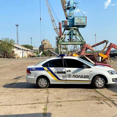 Полиция взяла под охрану терминал «Краншипа» в портопункте Килия