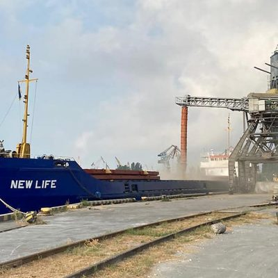 Стивидор «Херсонский порт» отгрузил первую партию пшеницы нового урожая