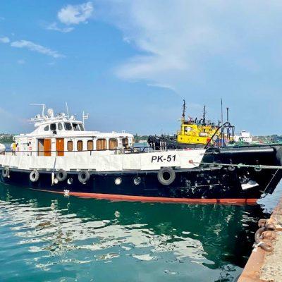На ИСРЗ отремонтирован пассажирский катер порта Черноморск