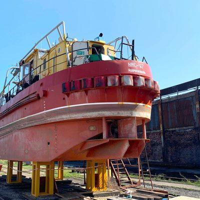 Мариупольский порт отремонтирует нефтемусоросборщик «НМС-67»