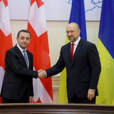 Украина и Грузия договорились развивать транзитные перевозки