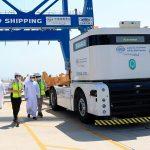 В порту Халифа внедрят первую на Ближнем Востоке систему беспилотных портовых электротягачей