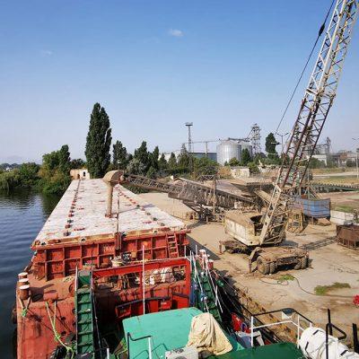 «Максигрейн» перегрузил пшеницу нового урожая на рейде Николаевского порта