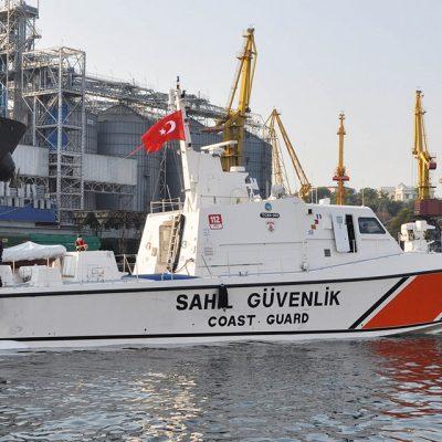 Одесский порт принял боевой катер турецкой береговой охраны