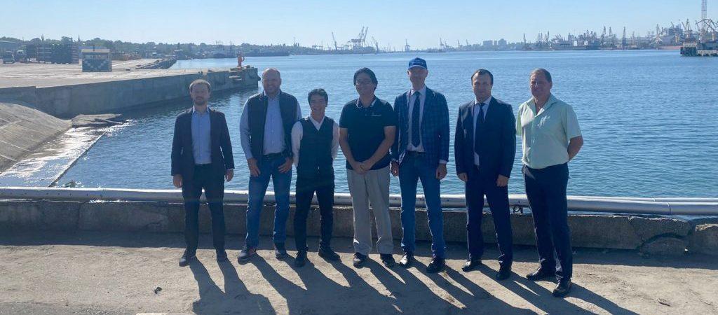 Mitsubishi планирует увеличить перевозки через паромный комплекс порта Черноморск