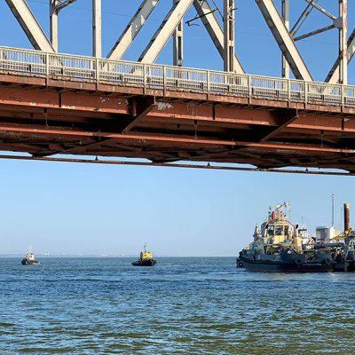 АМПУ возобновила дноуглубление в акватории Белгород-Днестровского порта
