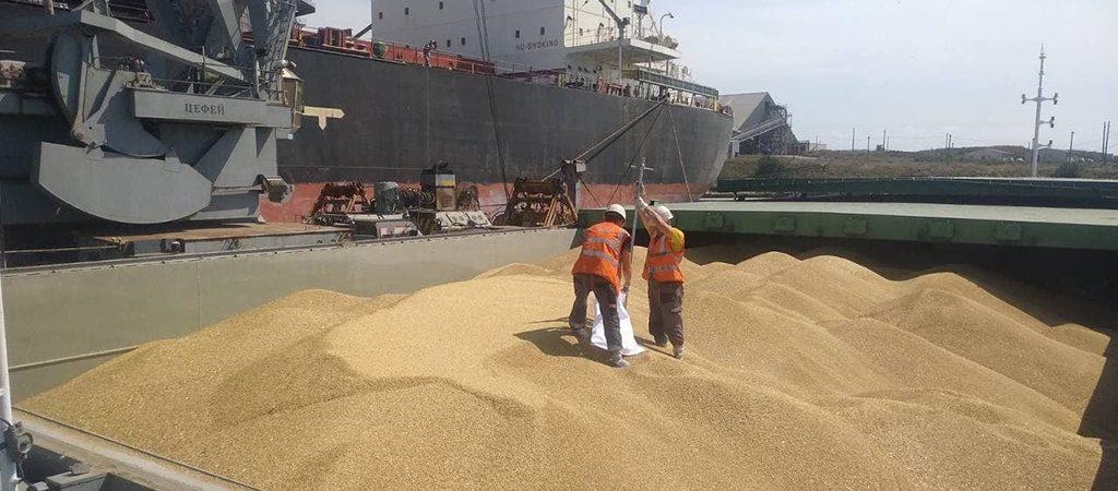 «Агровиста» доставила по Днепру зерно в порт «Пивденный»