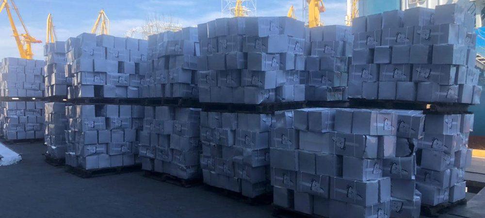 Таможня изъяла в Одесском порту почти 4 тыс. бензопил