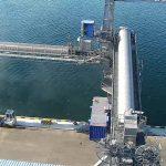 «Бруклин-Киев» испытал зернопогрузочную машину ЗПК на Андросовском молу