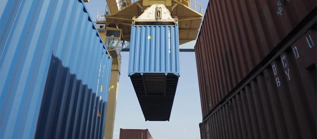 В Киев прибыл «юбилейный» контейнерный поезд из Китая