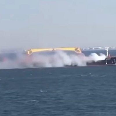 На балкере с украинским зерном произошло задымление у берегов Турции