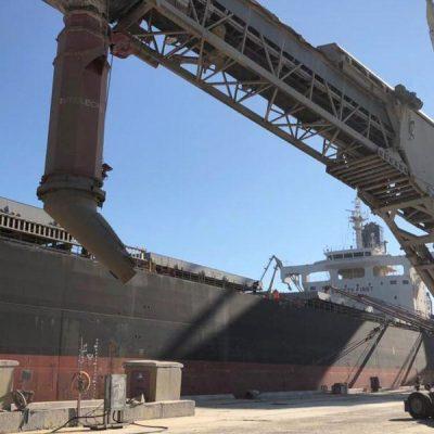 Нацполиция остановила незаконный экспорт зерна ГПЗКУ через порт Черноморск