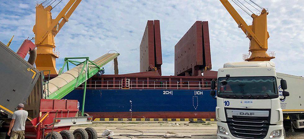 Agria установила рекорд интенсивности погрузки в Бердянском порту